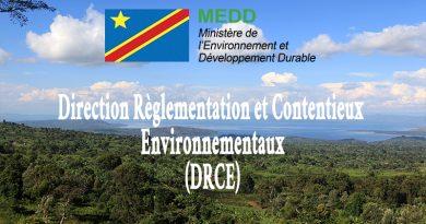 Direction Règlementation et Contentieux Environnementaux (DRCE)