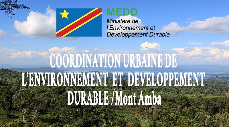 Coordination Urbaine de l'Environnement et Développement Durable de Kinshasa/Mont Amba