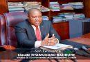 Biographie de SEM le Ministre de l'Environnement et Développement Durable, Me Claude NYAMUGABO BAZIBUHE