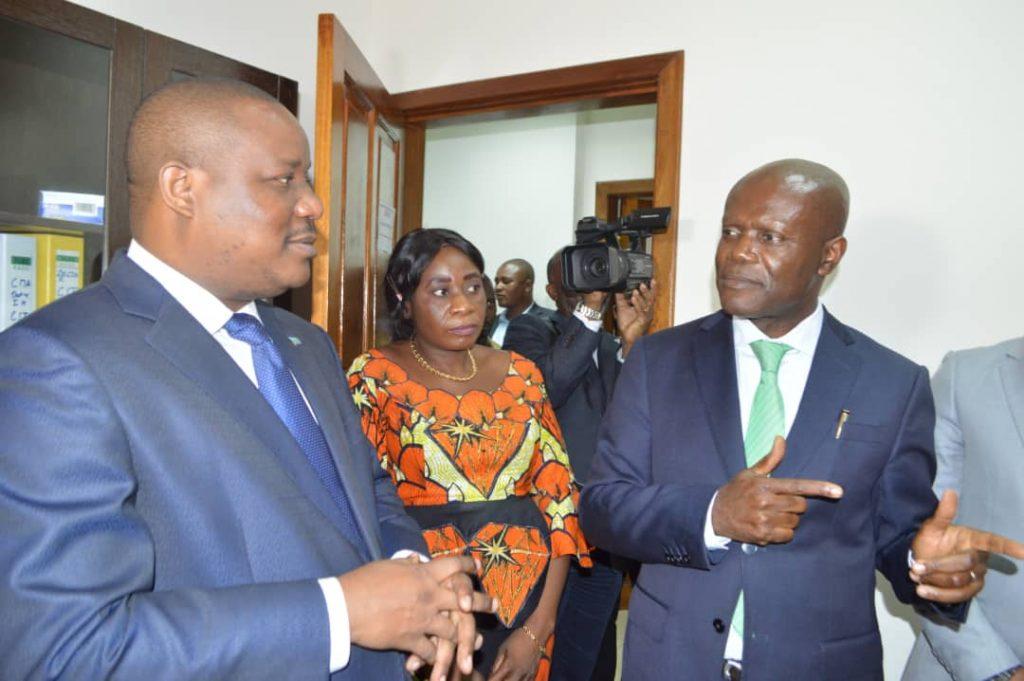Le Ministre de l'Environnement et développement durable, Maître Claude Nyamugabo Bazibuhe