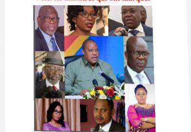 RDC: Ces Ministres qui servent des boucliers à Félix Tshisekedi dans la lutte contre le Covid-19