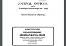 CONSTITUTION DE LA REPUBLIQUE DEMOCRATIQUE DU CONGO Modifiée par la Loi n° 11/002 du 20 janvier 2011 portant  révision de certains articles de la Constitution de la République Démocratique du Congo du 18 février 2006 (Textes coordonnés)