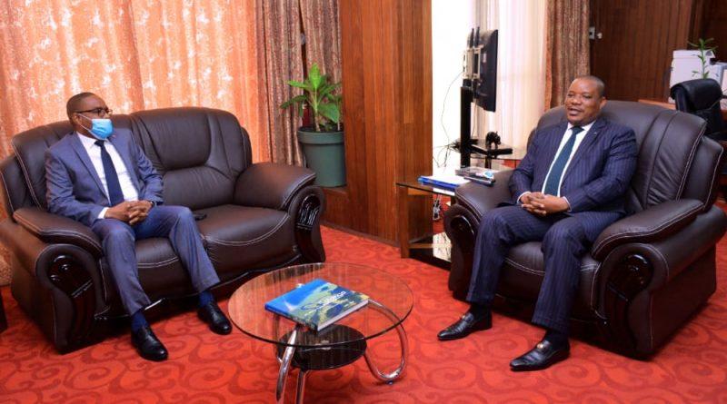 Environnement et Développement durable : Claude NYAMUGABO et Théo KASI NGWABIDJE se serrent les coudes pour relever les défis environnementaux au sud Kivu