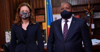 L'Ambassadrice du Royaume Uni, Emily MALTMAN réaffirme le soutien de son pays à la RDC dans le domaine de l'Environnement et Développement Durable