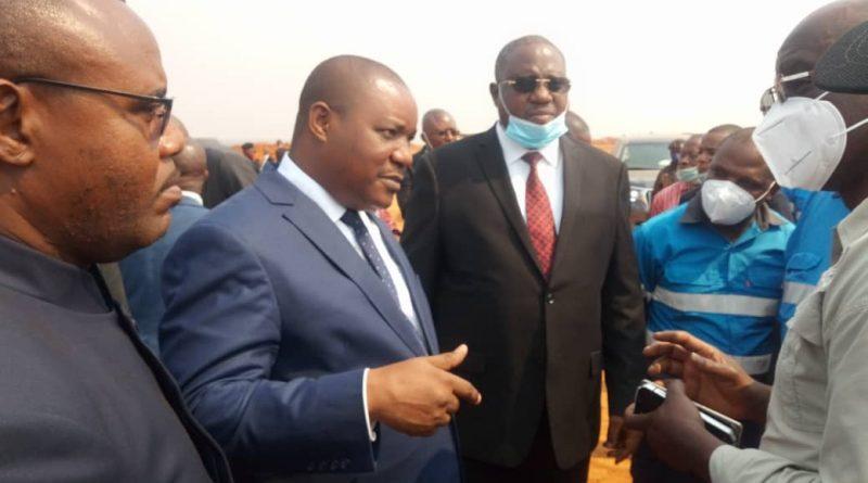 Respect des normes Environnementales par les Exploitants Miniers : le Ministre Me Claude Nyamugabo dans la capitale mondiale du cobalt pour sensibiliser