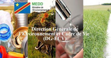 Direction Générale de l'Environnement et Cadre de Vie (DGECV)