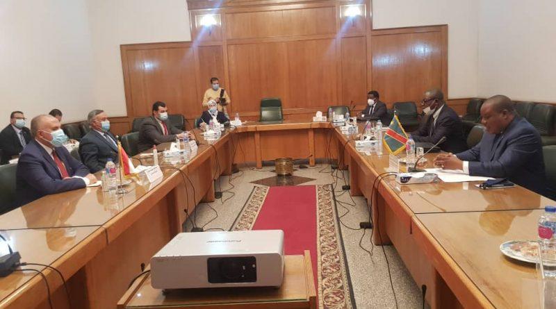 Gestion Intégrée des Ressources en Eau: Me Claude NYAMUGABO Apporte de l'Eau au Moulin du Projet GIRE Égypte-RDC