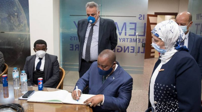 Gestion Intégrée des Ressources en Eau Me Claude NYAMUGABO a apporté de l'Eau au Moulin du Projet GIRE Égypte-RDC