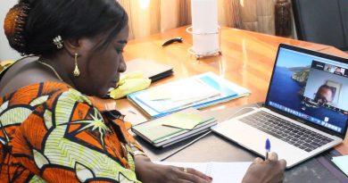 Séance de travail entre l'Organisation Mondiale du Tourisme (OMT) ,le Ministère du Tourisme et le Ministère de l'Environnement et Développement Durable (MEDD) de la RDC.