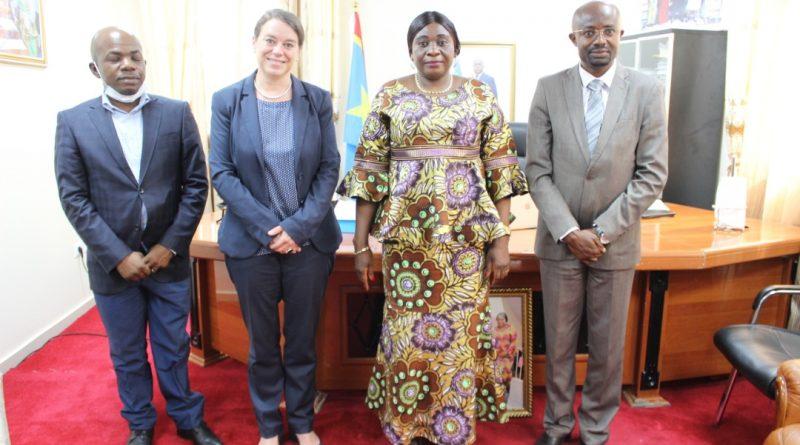 Visite de la délégation de la Coopération Suisse Grands Lacs-RD Congo au Ministère de l'Environnement et Développement Durable