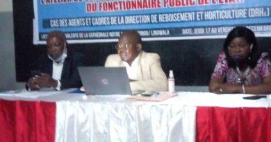 Ministère de l'Environnement et développement Durable Éthique et déontologie : Sensibilisation de l'Agent public de l'Etat
