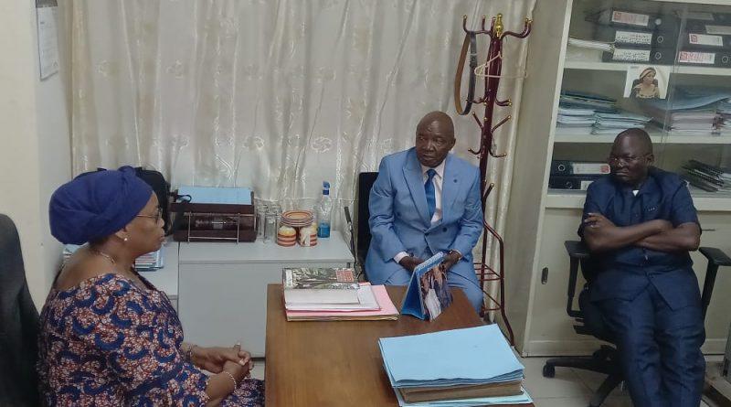 Visites des structures du Secrétariat Général à l'EDD (SG-EDD) par Son Excellence Madame le Vice-Premier Ministre et Ministre de l'EDD, Eve BAZAIBA MASUDI