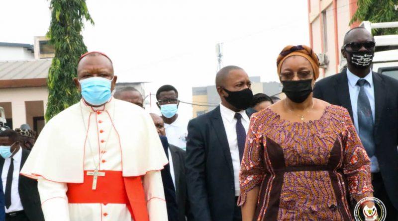 Environnement et développement durable le cardinal Peter Texon salue l'intérêt d'Eve Bazaïba dans la sagesse traditionnelle de conserver la nature