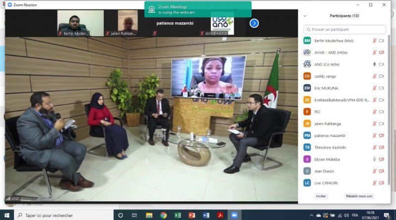 La VPM Ève Bazaïba a pris part à la cérémonie de clôture de salon virtuel de la transformation et valorisation des déchets, co- organisé par la FEC et L'agence Algérie des déchets (AND).