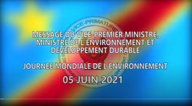 Message de la vice première ministre, ministre de l'environnement et développement durable Eve BAZAIBA MASUDI à l'occasion de la journée mondiale de l'environnement