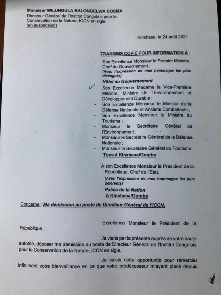Lettre-de-demission-de-Monsieur-WILUNGULA-BALONGELWA-Cosma-au-poste-de-Directeur-General-de-lICCN
