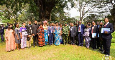 Préservation de la Biodiversité et Protection des aires protégées Eve Bazaïba visite le CorPPN