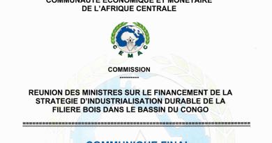 REUNION DES MINISTRES SUR LE FINANCEMENT