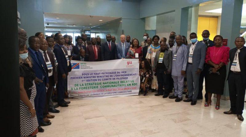 OPERATIONNALISATION DU COMITE DE PILOTAGE DE LA STRATÉGIE NATIONALE DE FORESTERIE COMMUNAUTAIRE EN RDC