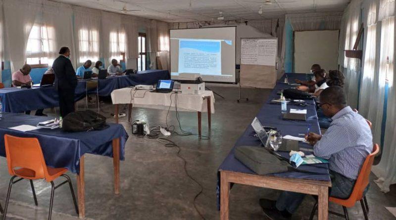 Participants à l'atelier de renforcement des capacités à Mbanza-Ngungu ©DANTIC 2021