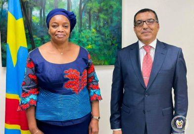 MEDD: CABINET VICE-PRIMATURE UNE JUSTICE CLIMATIQUE PRÉCONISÉE PAR L'AMBASSADEUR DU MAROC EN RDC