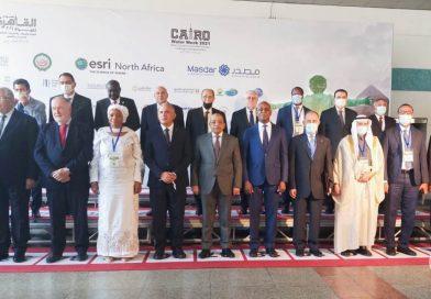 La Vice-Premier Ministre Ministre de l'Environnement et Développement Durable prend part ce dimanche 24 Octobre 2021 au Caire en Égypte à la 4ème semaine de l'eau organisée par le Ministère Egyptien des Ressources en eau et de l'irrigation.