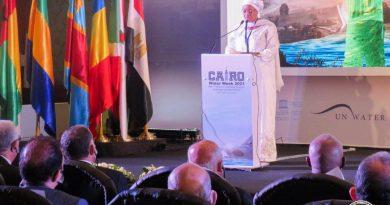Eve Bazaïba et Mohamed Abdel-ATY discutent de la prolongation de l'accord sur la gestion intégrée des ressources