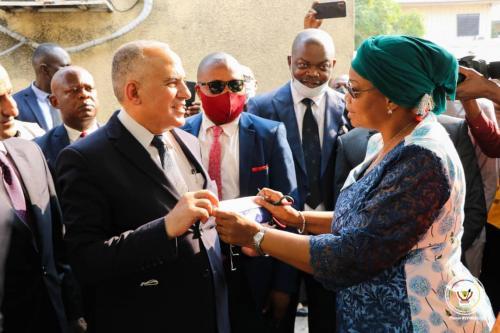 GRAND PAS FRANCHI DANS LA MISE EN OEUVRE DU PROJET GIRE EN RDC 1-1