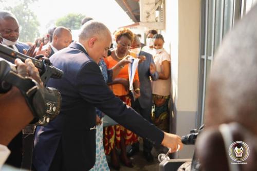 GRAND PAS FRANCHI DANS LA MISE EN OEUVRE DU PROJET GIRE EN RDC 41